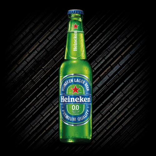 Heineken 0,0 botella 33 cl